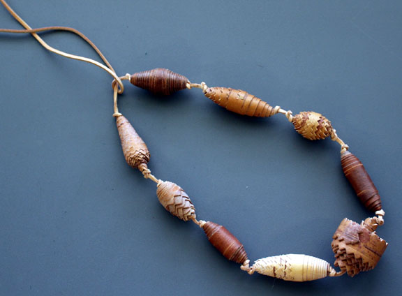 Arctic Birch Bead Necklace