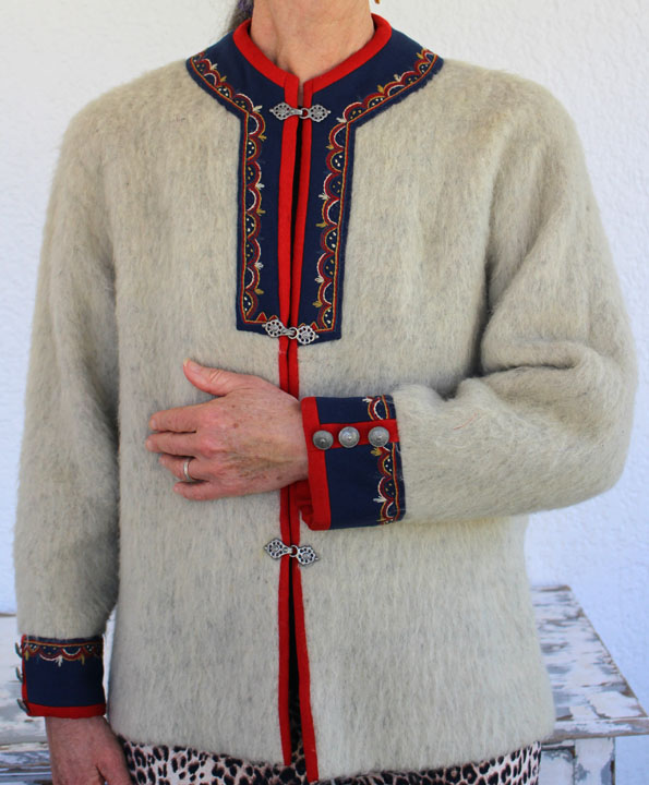 Norwegian Sweater Coat