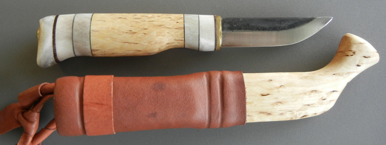 Tundra Puukko with Wood & Leather Sheath
