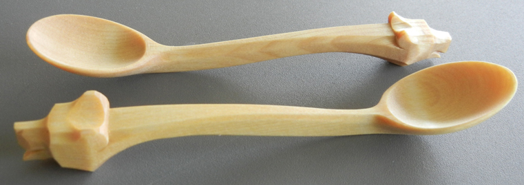 Bear Head Spoons