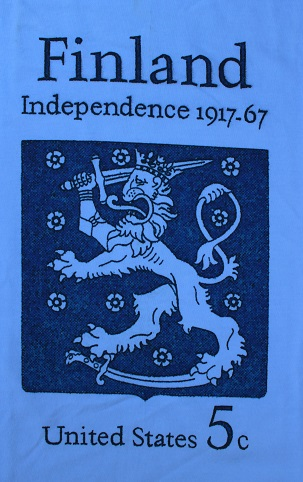 Finland Independence Stamp 1967