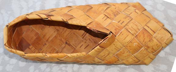 Birch Bark Shoe