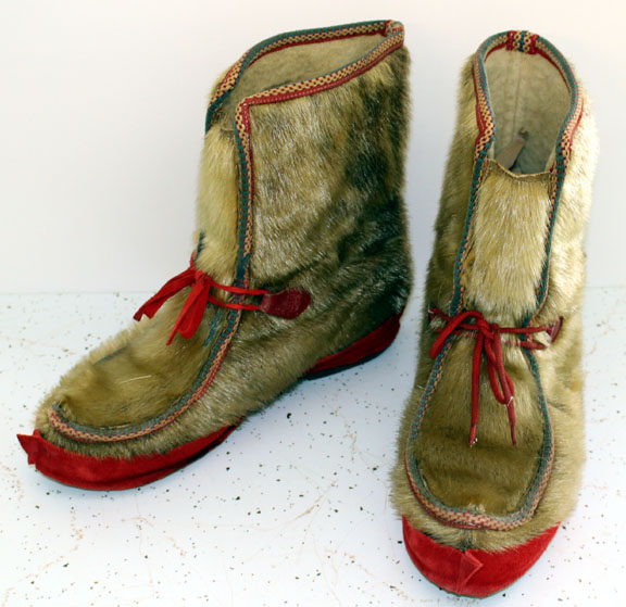 Seal Fur Boots