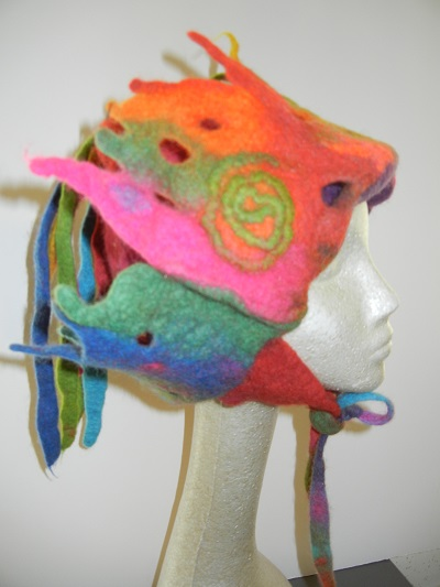 One of a kind Felt Hat