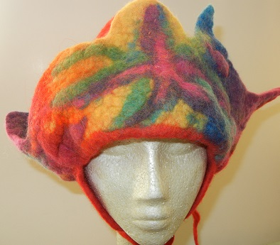 One of a Kind Wool Felt Hat