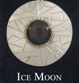 Ice Moon Brooch
