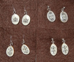 Earrings, Talisman
